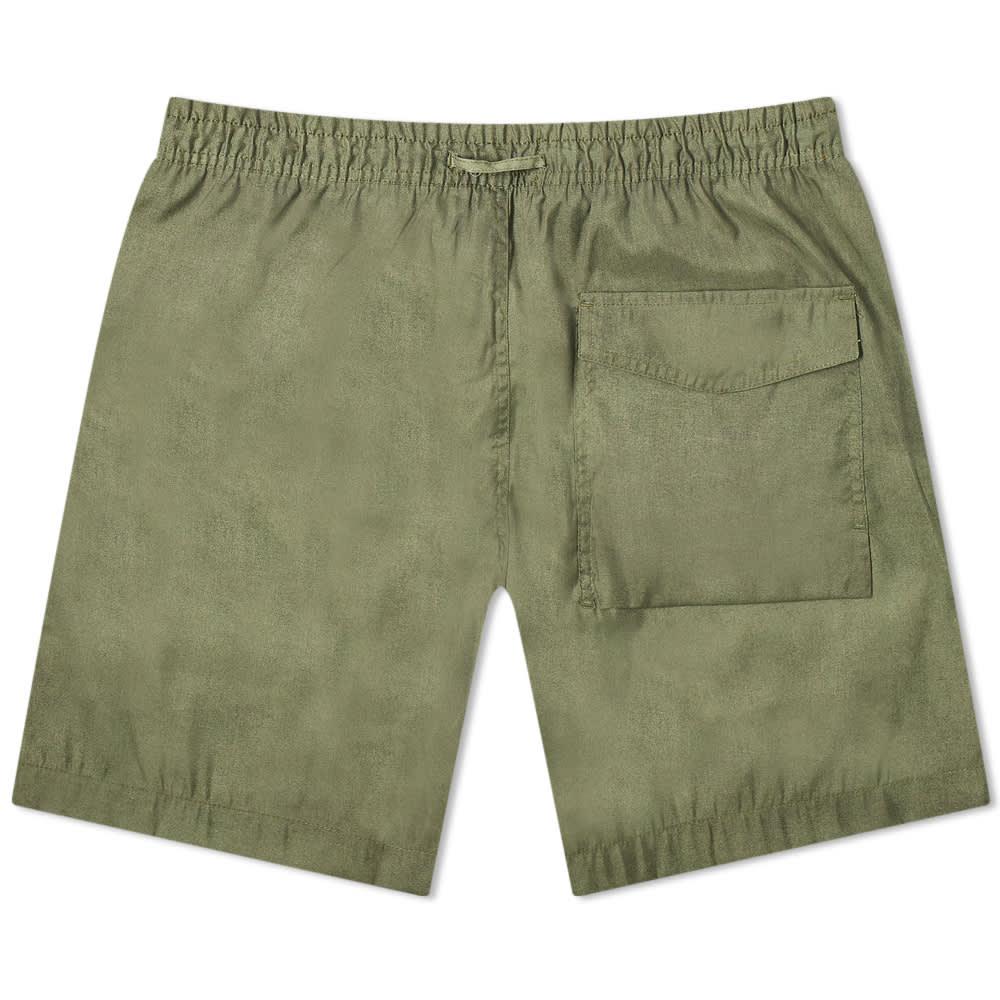Maharishi Miltype Swim Shorts - Olive