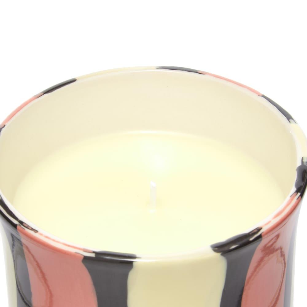 HAY Stripe Scented Candle - Orange Flower