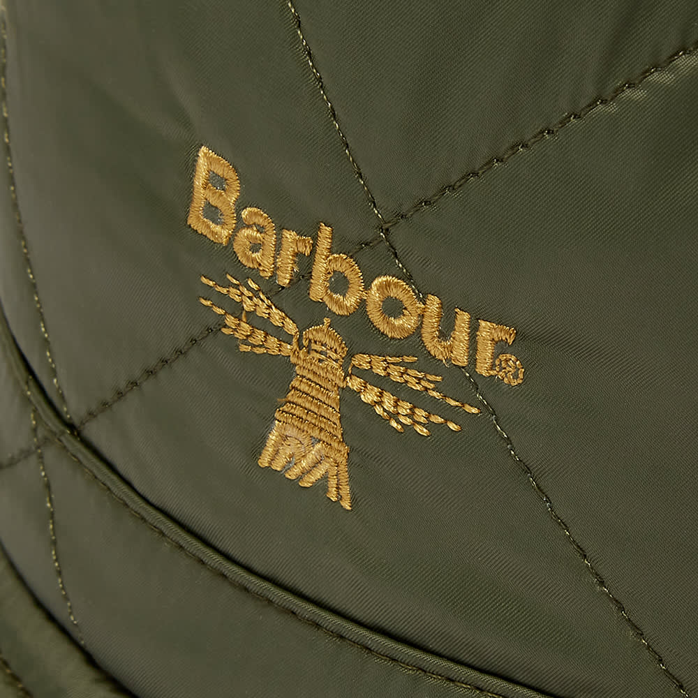 Barbour Beacon Quilted Bucket Hat - Olive