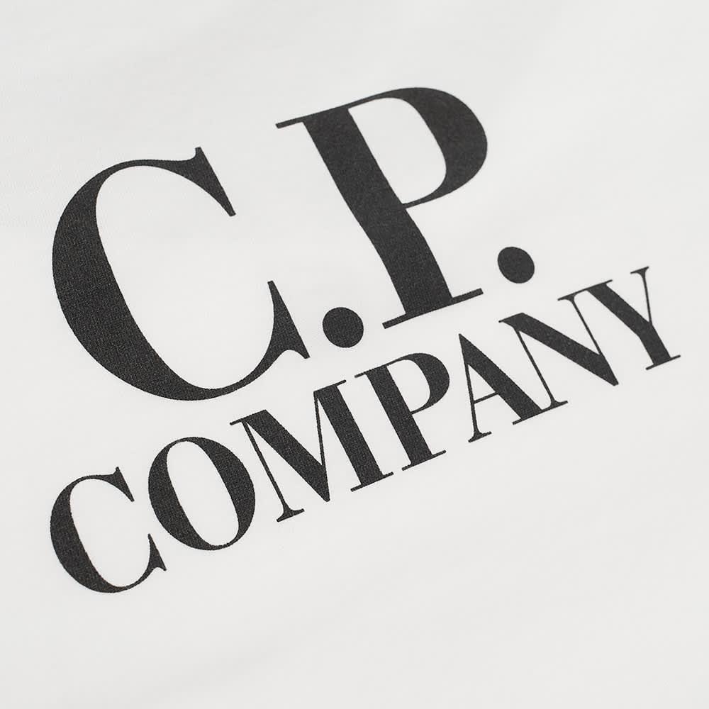 C.P. Company Undersixteen Goggle Back Tee - Gauze White