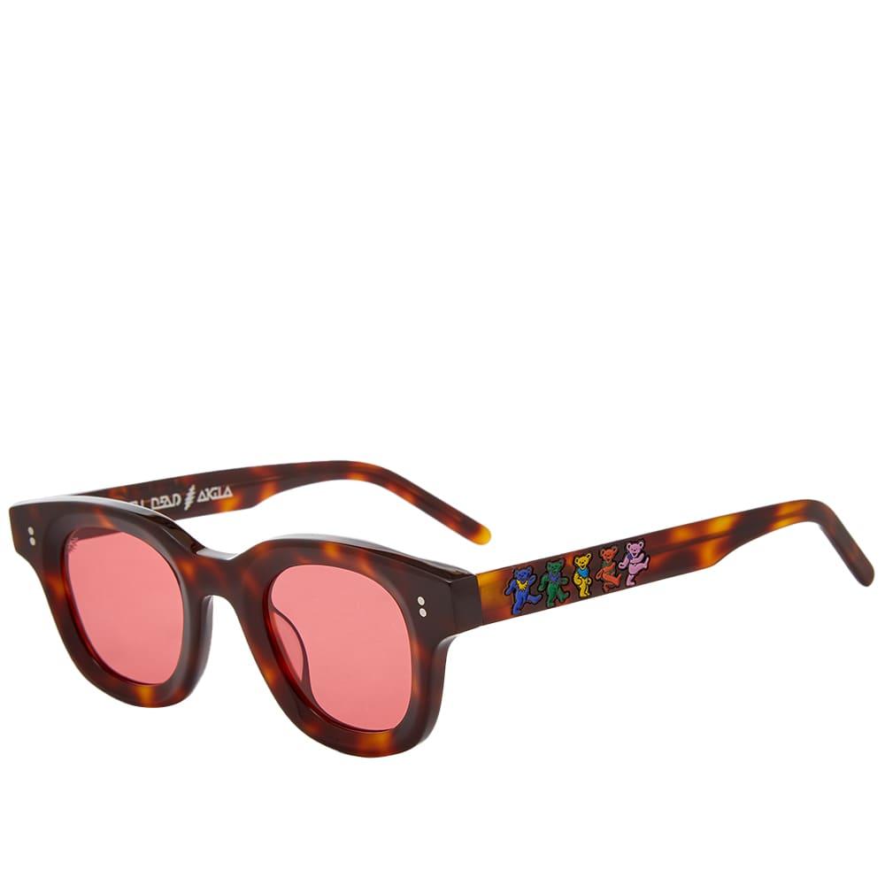 Akila x The Grateful Dead Apollo Sunglasses - Havana & Rose