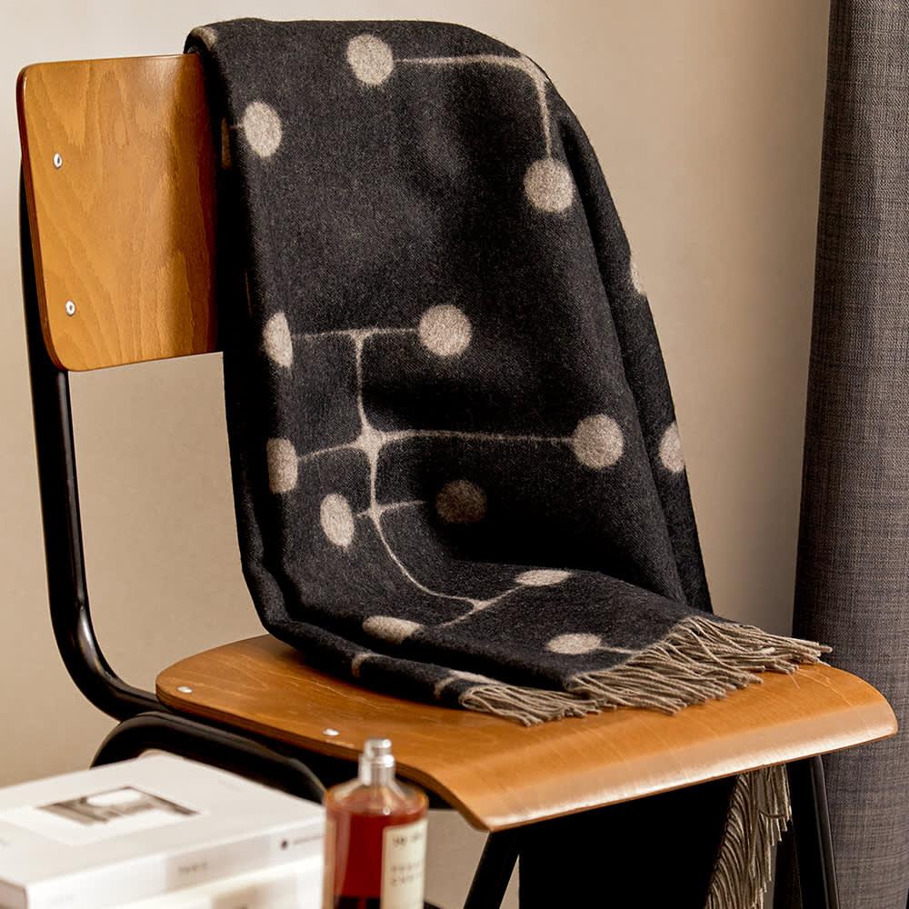 Vitra Charles & Ray Eames Wool Blanket - Dot Pattern