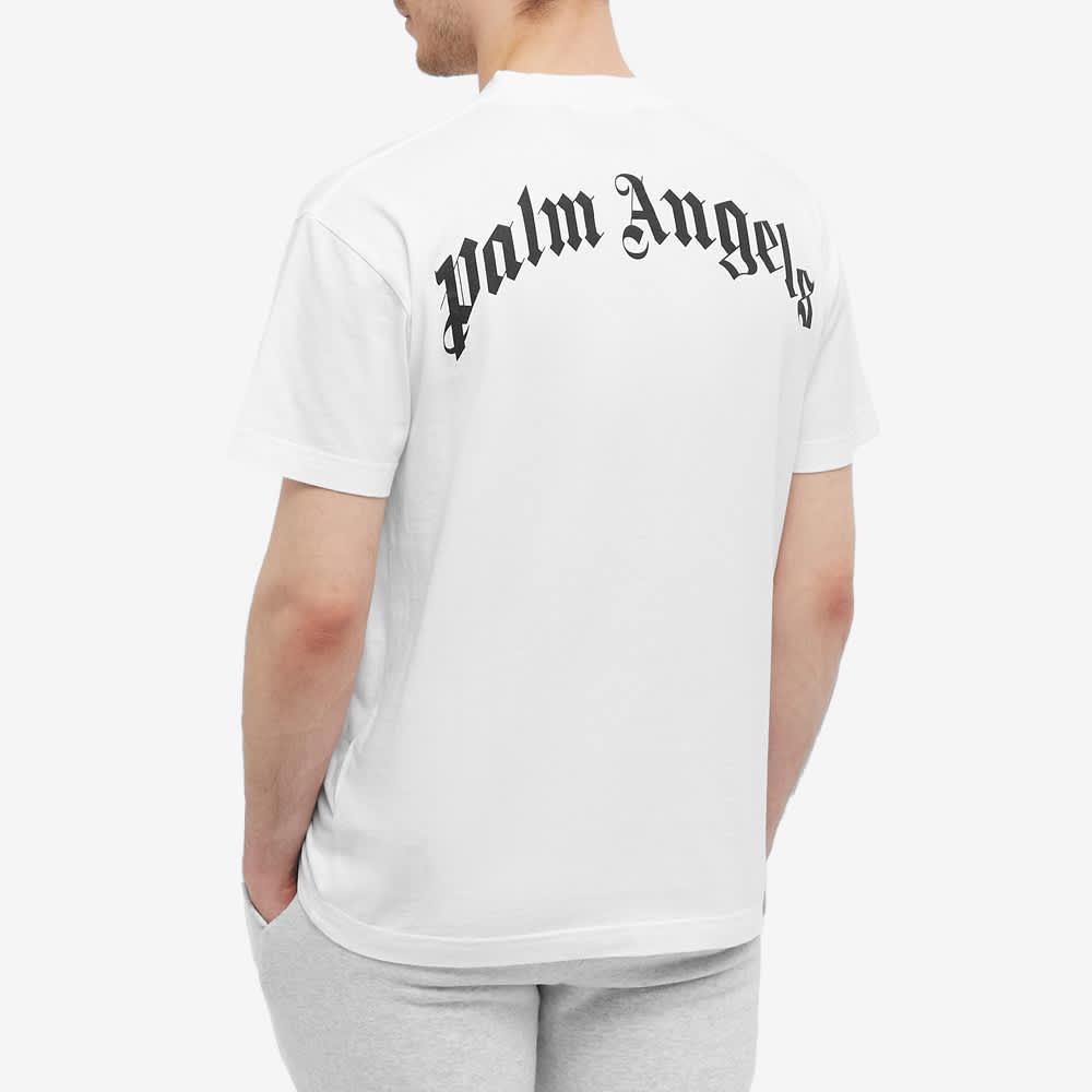 Palm Angels Kill The Bear Tee - White & Brown
