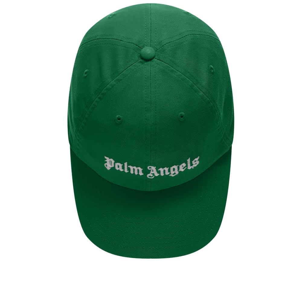 Palm Angels Classic Logo Cap - Green & White