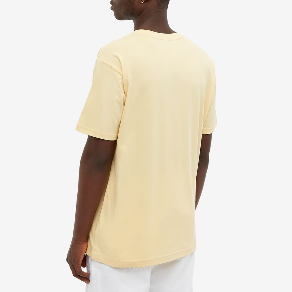 New Balance NB Essentials Embroidered Tee - Pale Straw