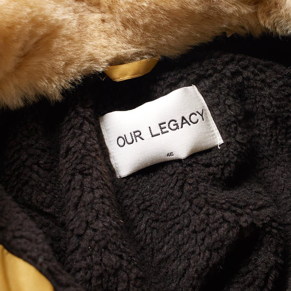 Our Legacy Flight Jacket - Yolk