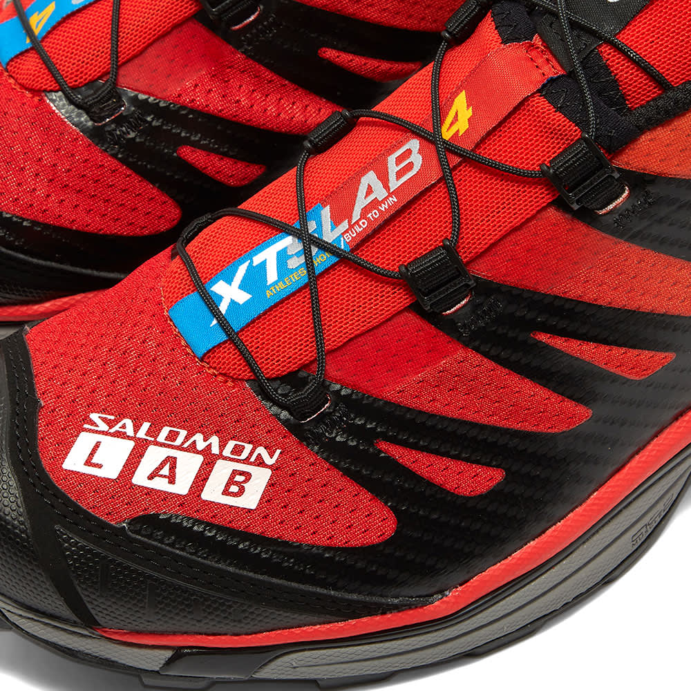 Salomon S/LAB XT-4 ADVANCED - Black, Red & Impact Yellow