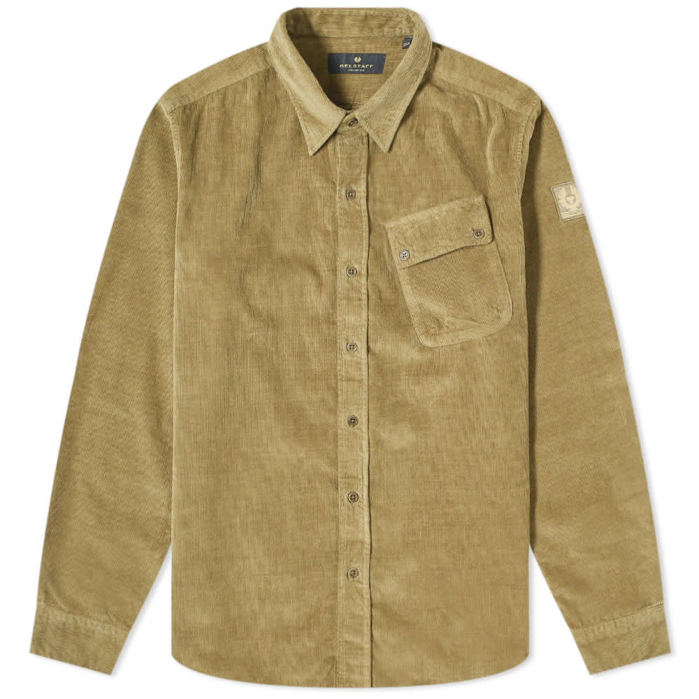 Belstaff Pitch Corduroy Shirt - Salvia