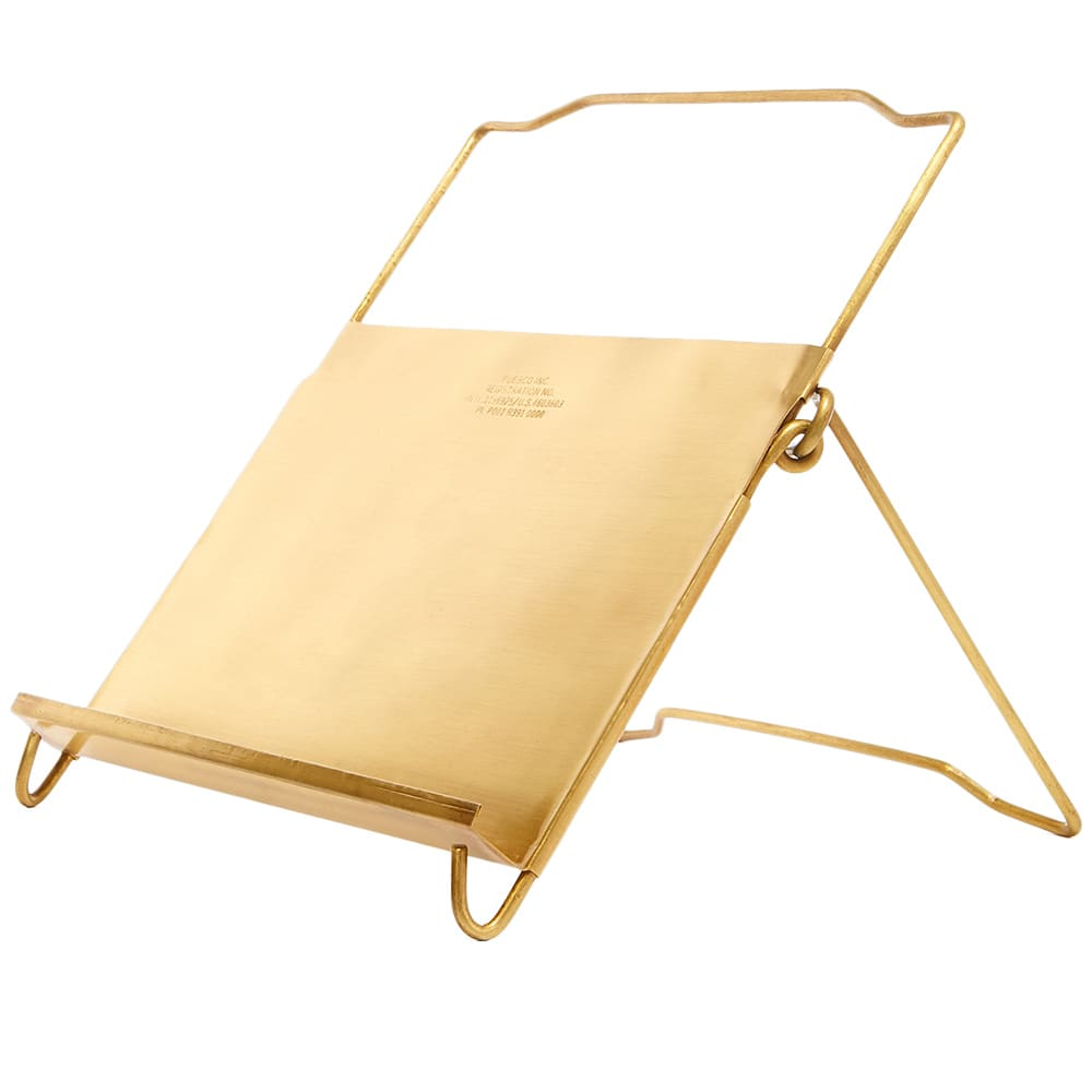 Puebco Brass Tablet Stand - Brass