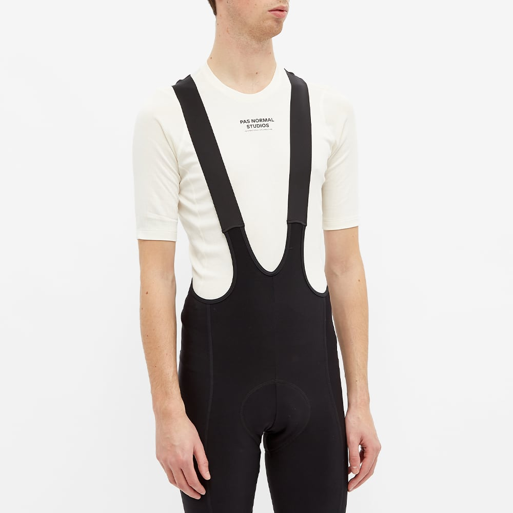 Pas Normal Studios Short Sleeve Mid Base Layer - White