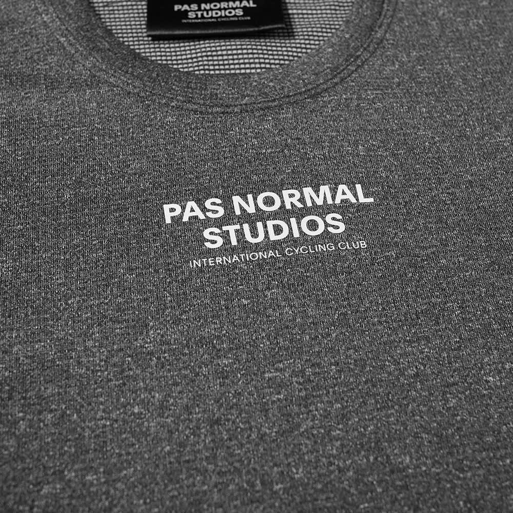 Pas Normal Studios Short Sleeve Mid Base Layer - Black