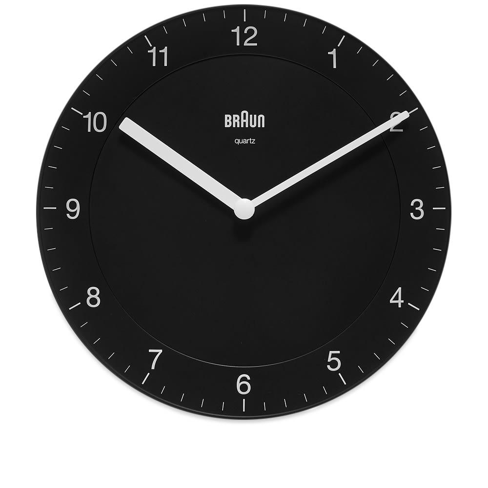 Braun BC06 Wall Clock - Black