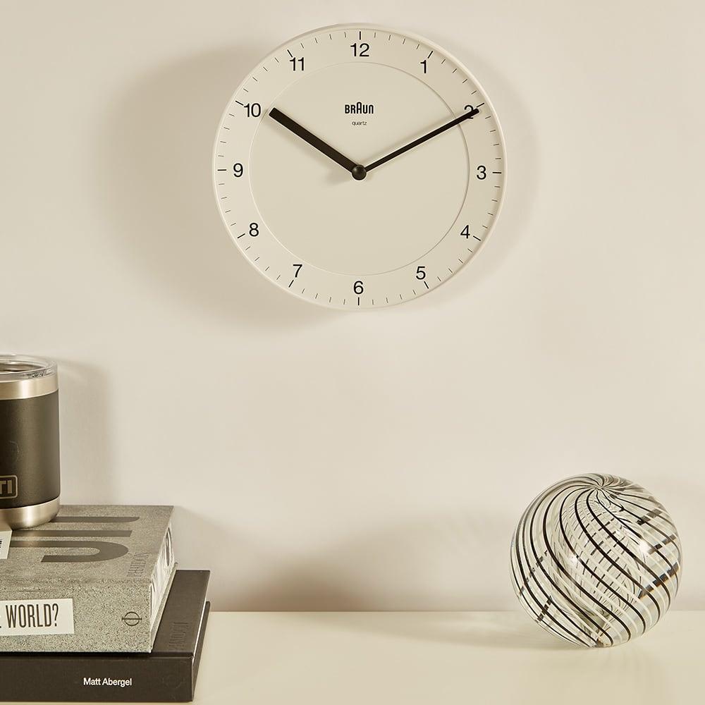 Braun BC06 Wall Clock - White