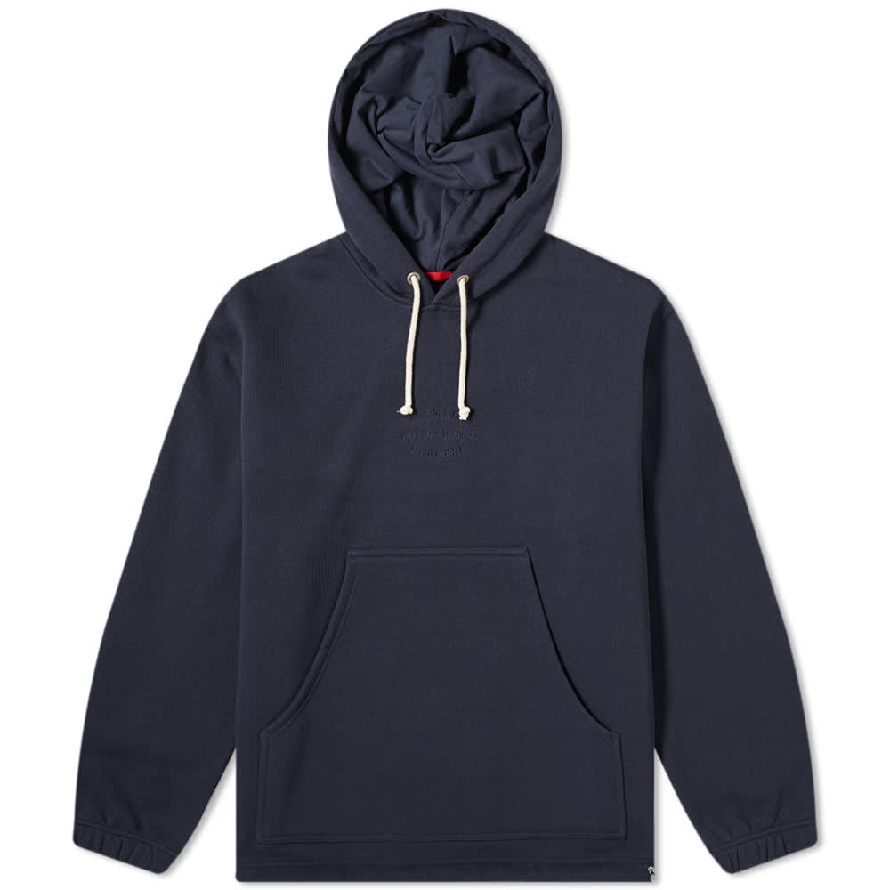 Nigel Cabourn x Element Patch Hoody - Eclipse Navy