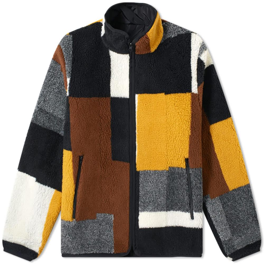 John Elliott Nashville Jacquard Reversible Fleece