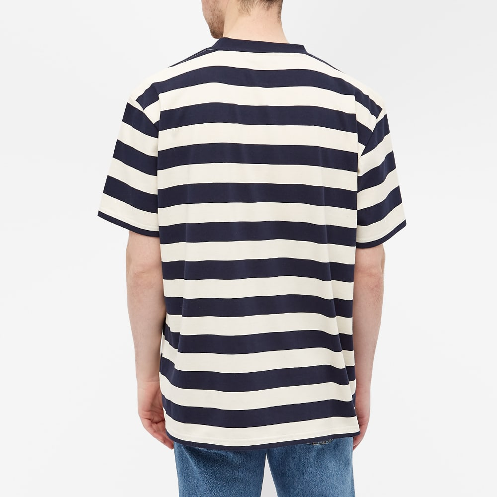 JW Anderson Oversize Anchor Tee - Navy & Off White