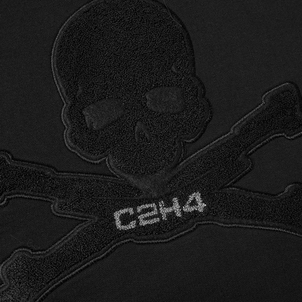 C2H4 x MASTERMIND JAPAN Applique Logo Popover Hoody - Black