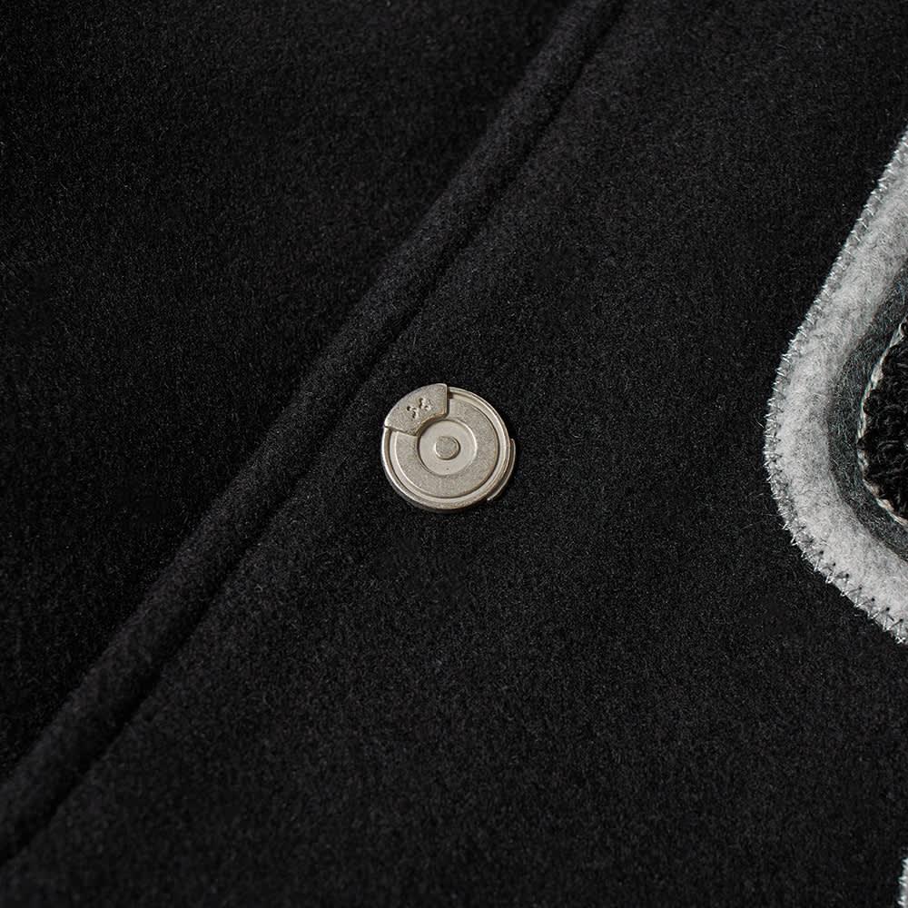 C2H4 x MASTERMIND JAPAN Applique Baseball Jacket - Black