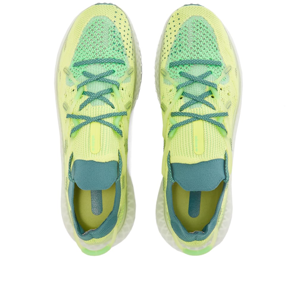 Adidas 4D Fusio - Yellow, Emerald & Dove Grey