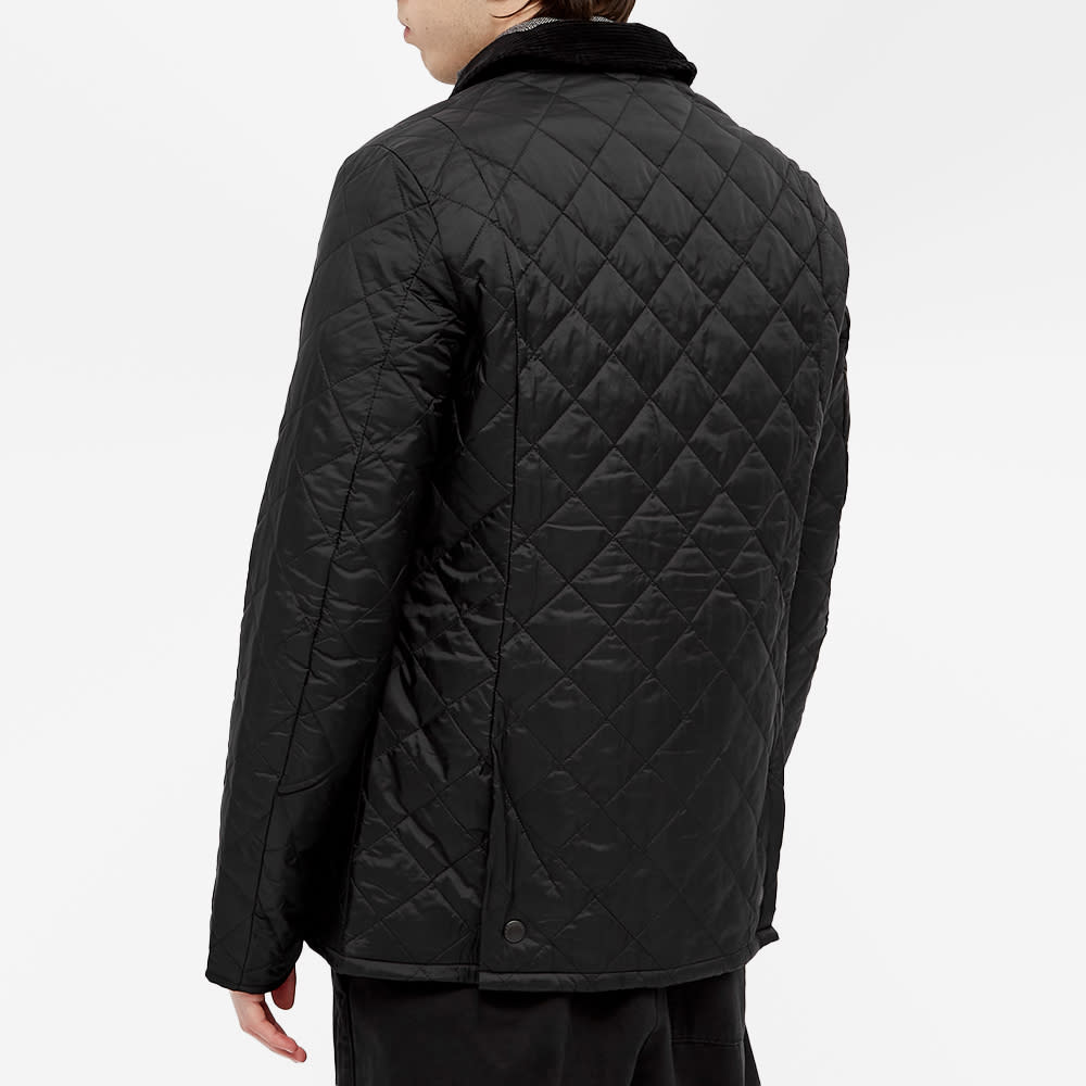 Barbour Heritage Liddesdale Quilt Jacket - Black