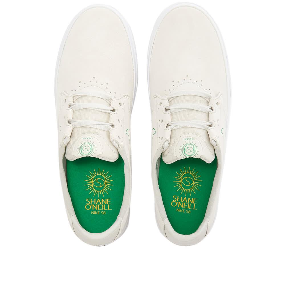 Nike SB Shane - White, Green & Gold