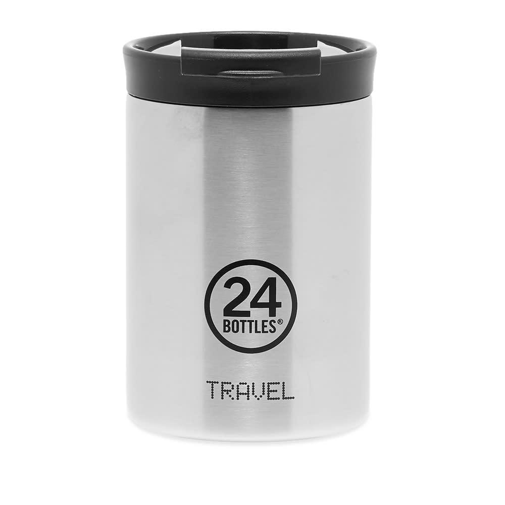 24 Bottles Travel Tumbler Insulated 350ml - Silver