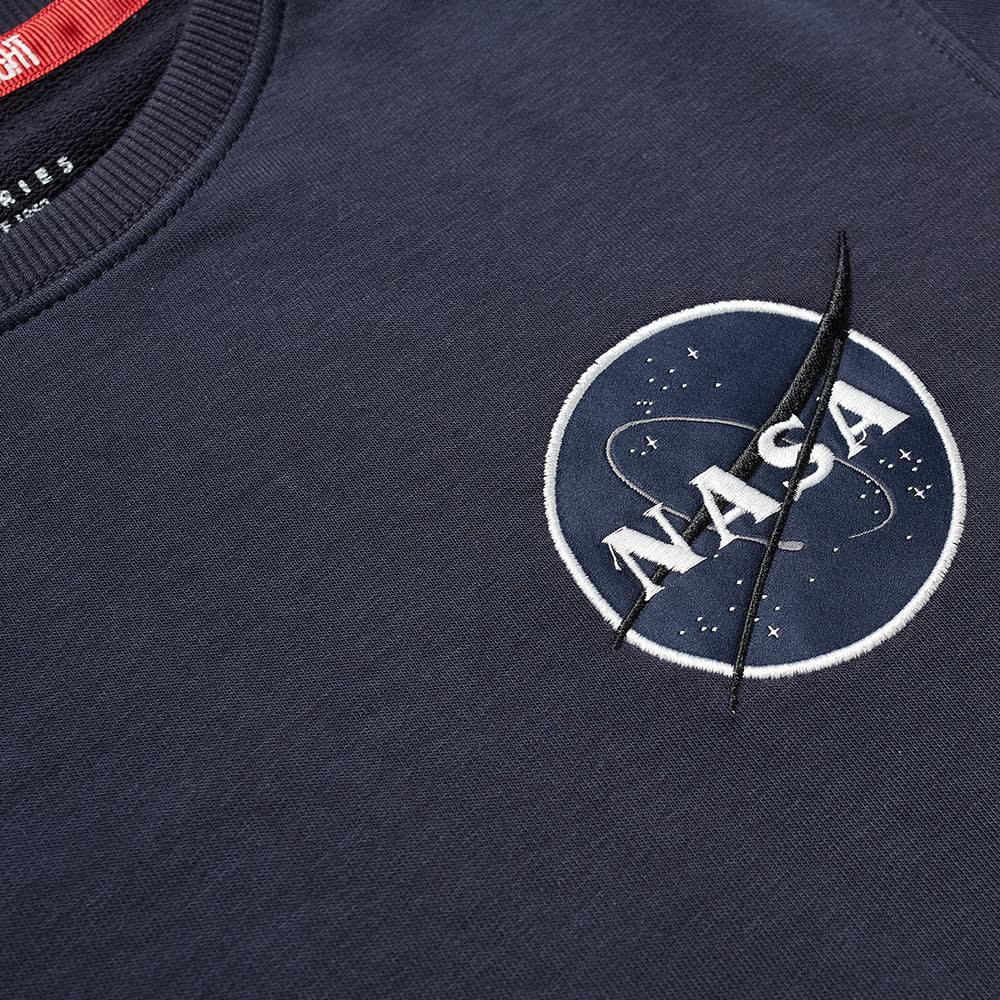 Alpha Industries NASA Heavy Tee - Replica Blue