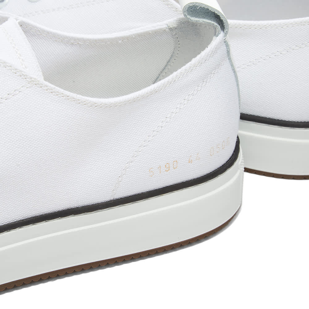 Common Projects Tournament Low Canvas - White