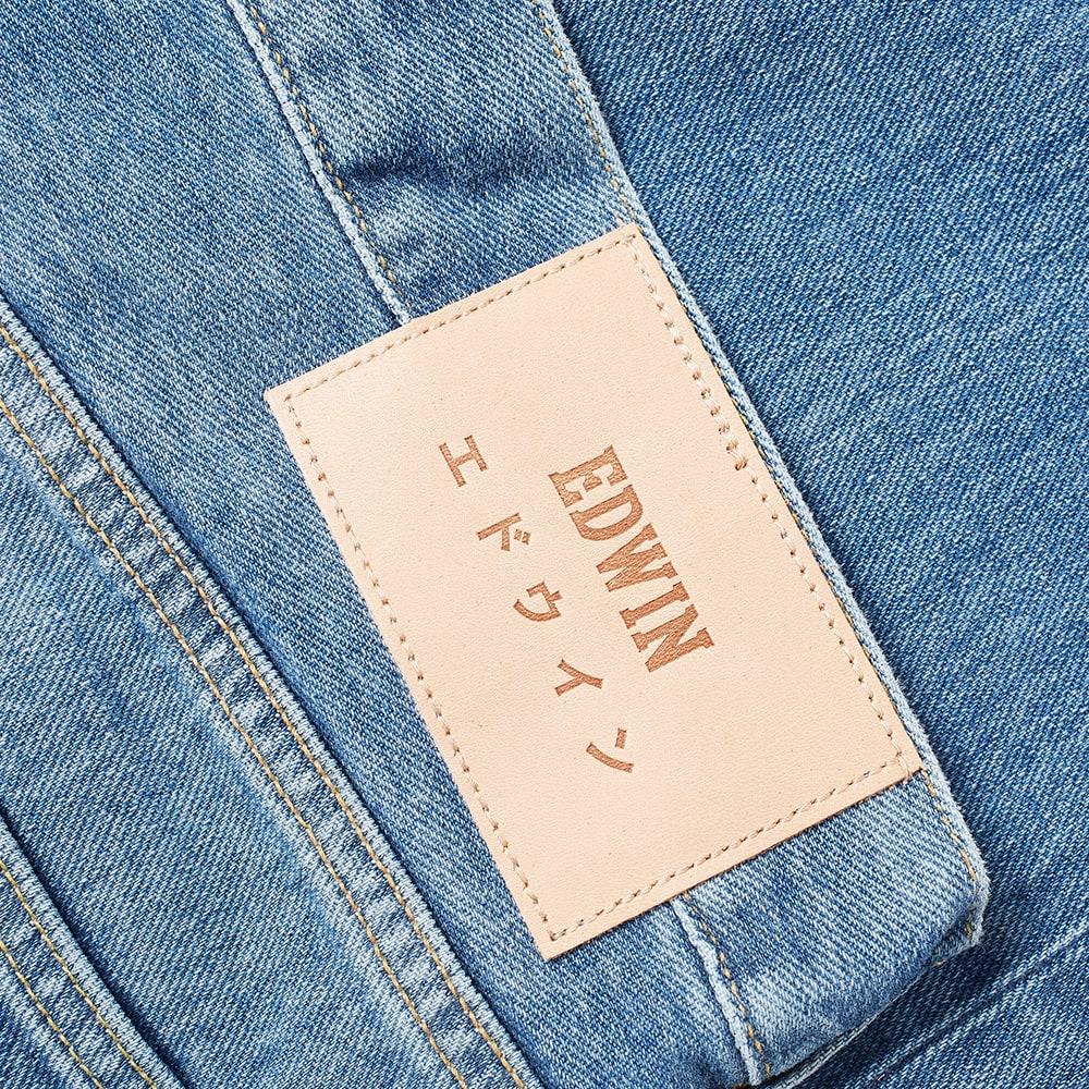 Edwin ED-80 Slim Tapered Jean - Azumi Eco Wash
