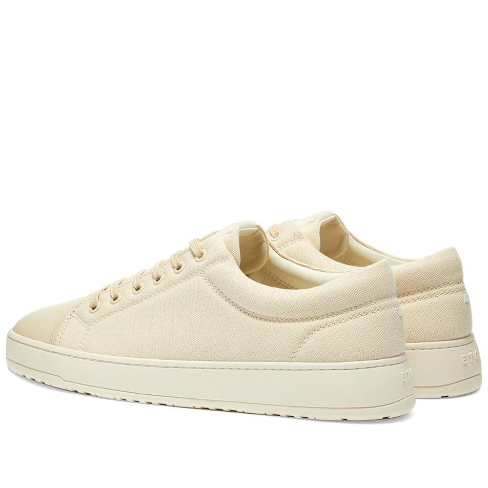 ETQ. Low Top 1 Kurashiki Canvas Sneaker - Off White