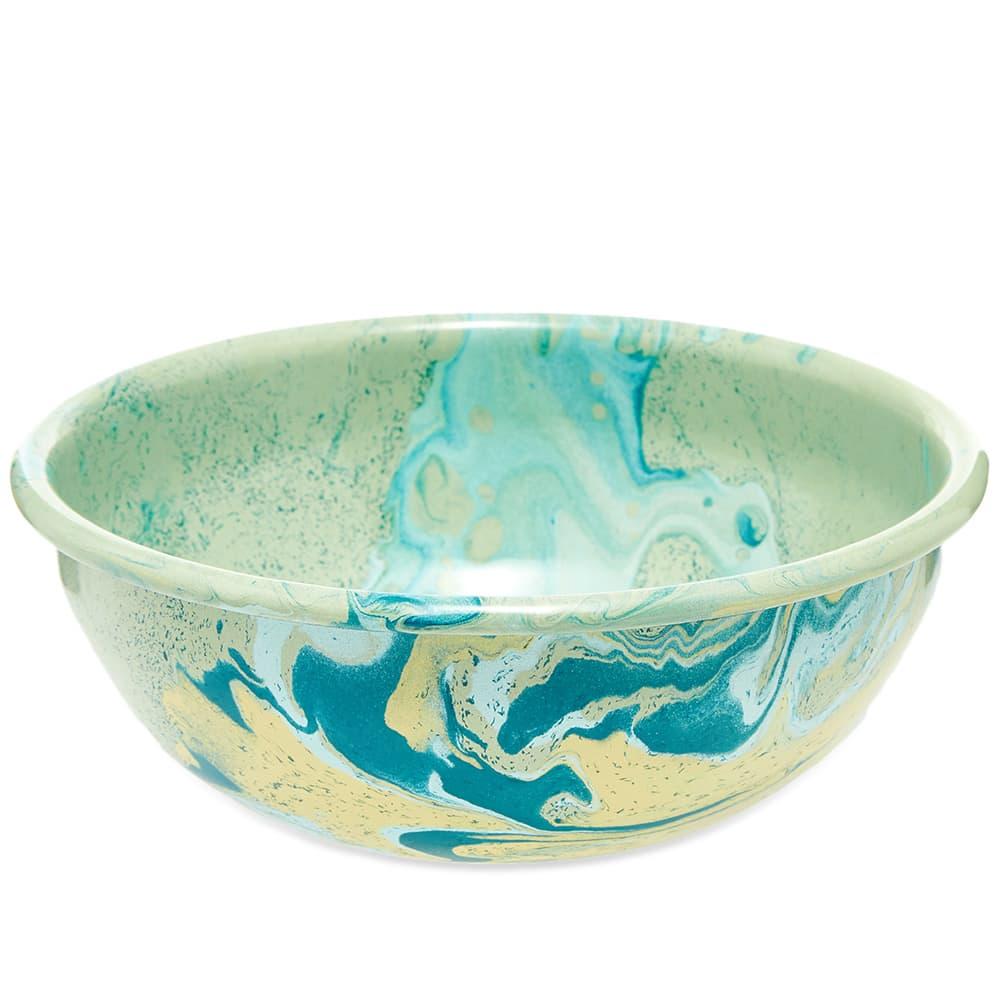 BORNN Enamelware New Marble 16cm Bowl - Mint