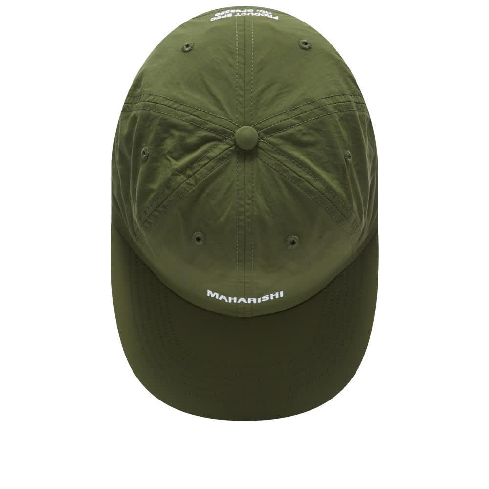 Maharishi Japanese Nylon Logo Cap - Olive