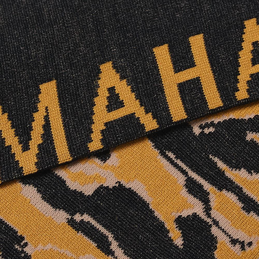 Ayame Socks x Maharishi Jacquard Tiger Stripe Sock - Camo