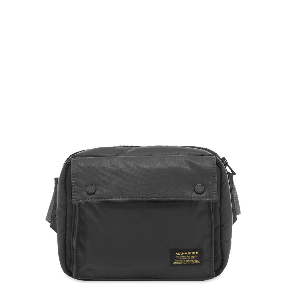 Maharishi Small Travel Waist Bag - Black