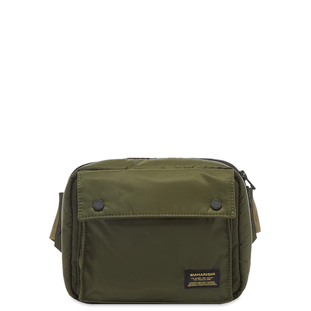 Maharishi Small Travel Waist Bag - Olive