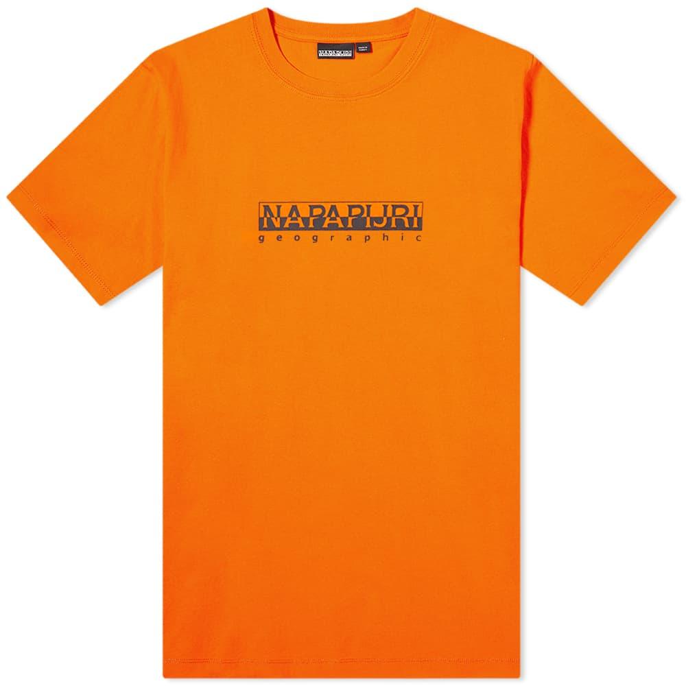 Napapijri Sox Box Tee - Orange
