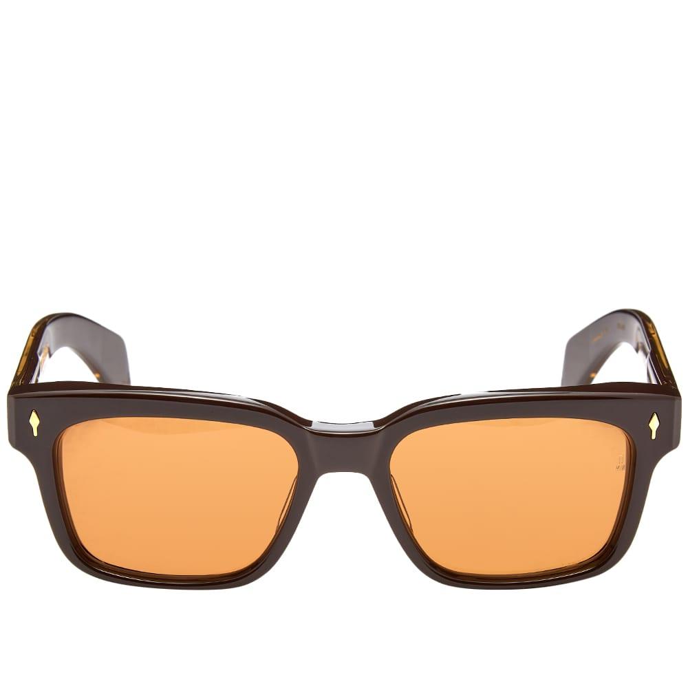 Jacques Marie Mage Walker Sunglasses - Walnut