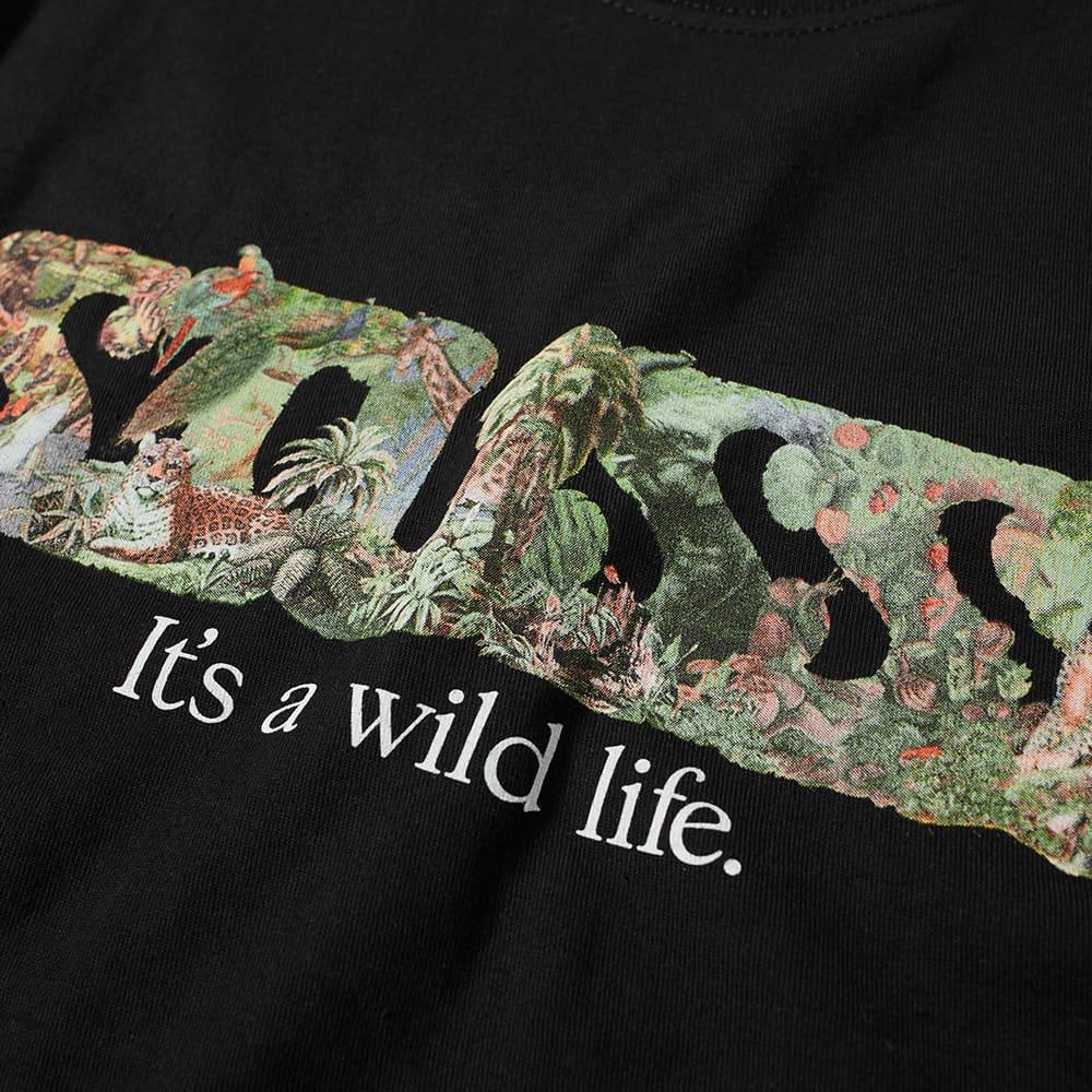 Stussy Its A Wild Life Tee - Black