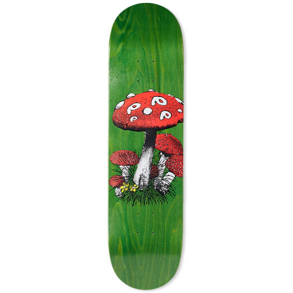 "Pop Trading Company Shroom 8.2"" Skate Deck - Green"