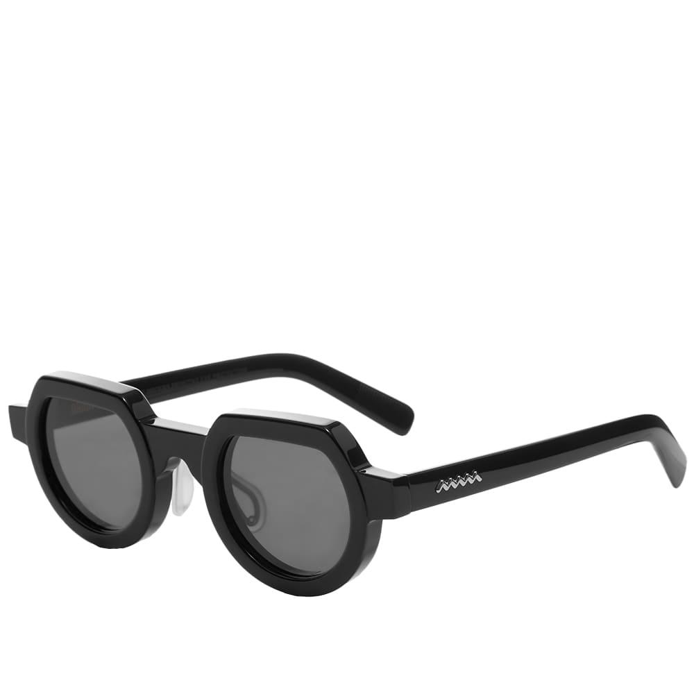 Brain Dead Tani Sunglasses - Black & Black