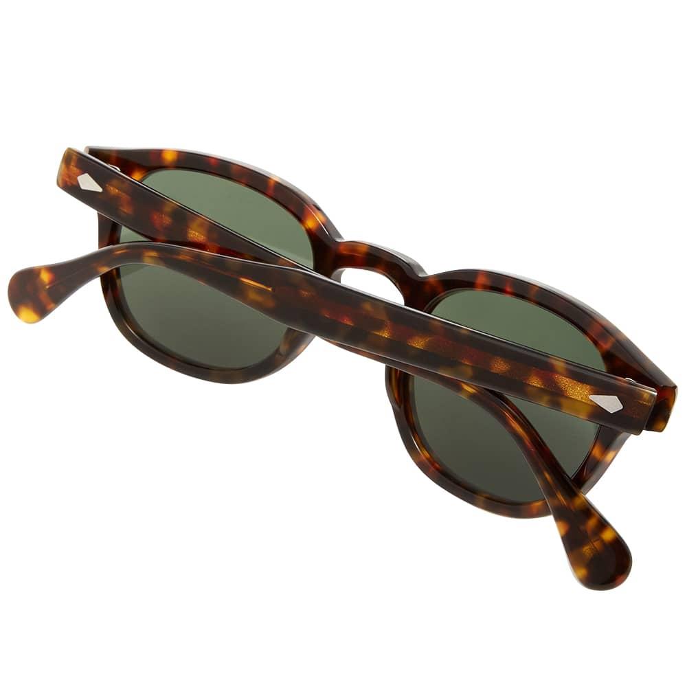 Moscot Lemtosh Sunglasses - Tortoise & G-15