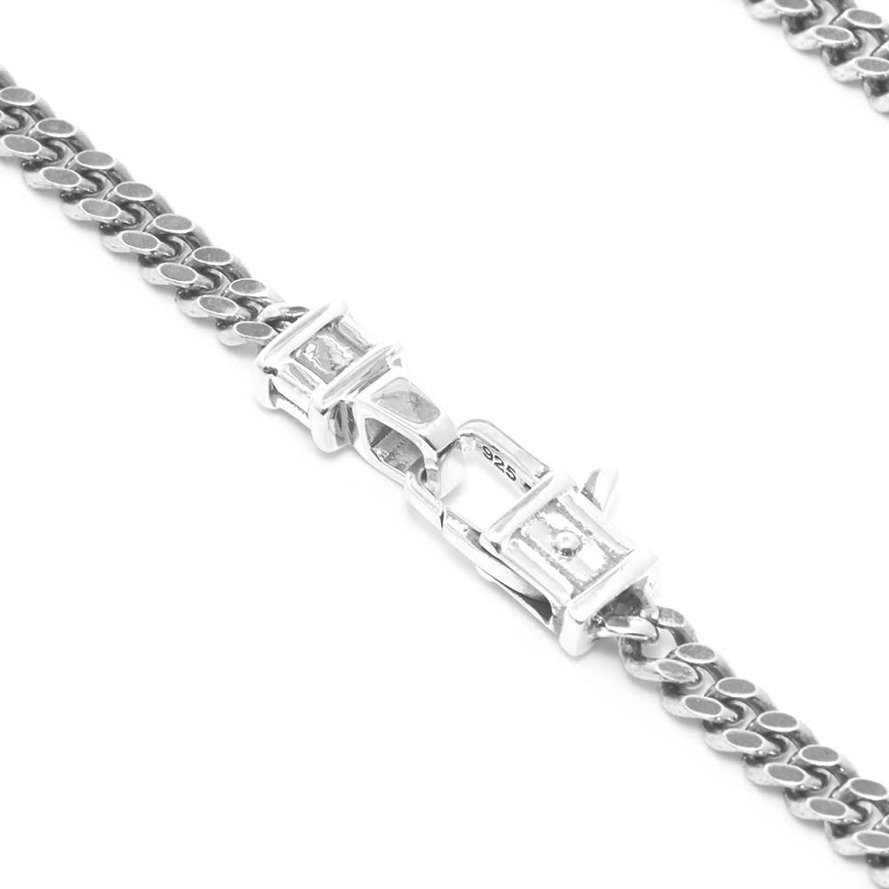 "Tom Wood 24.5"" Curb Chain M - Silver"