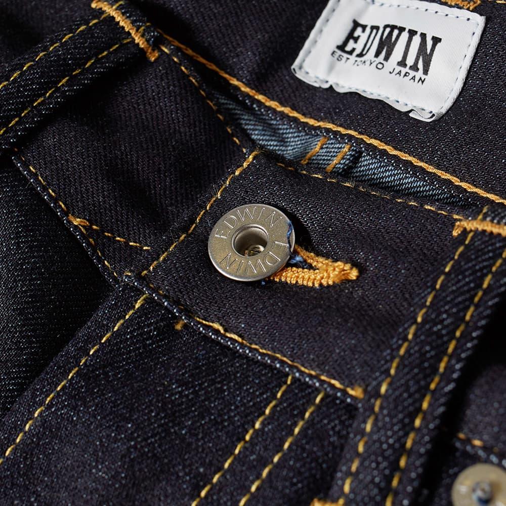 Edwin ED-80 Slim Tapered Jean - Unwashed 11.8oz Indigo