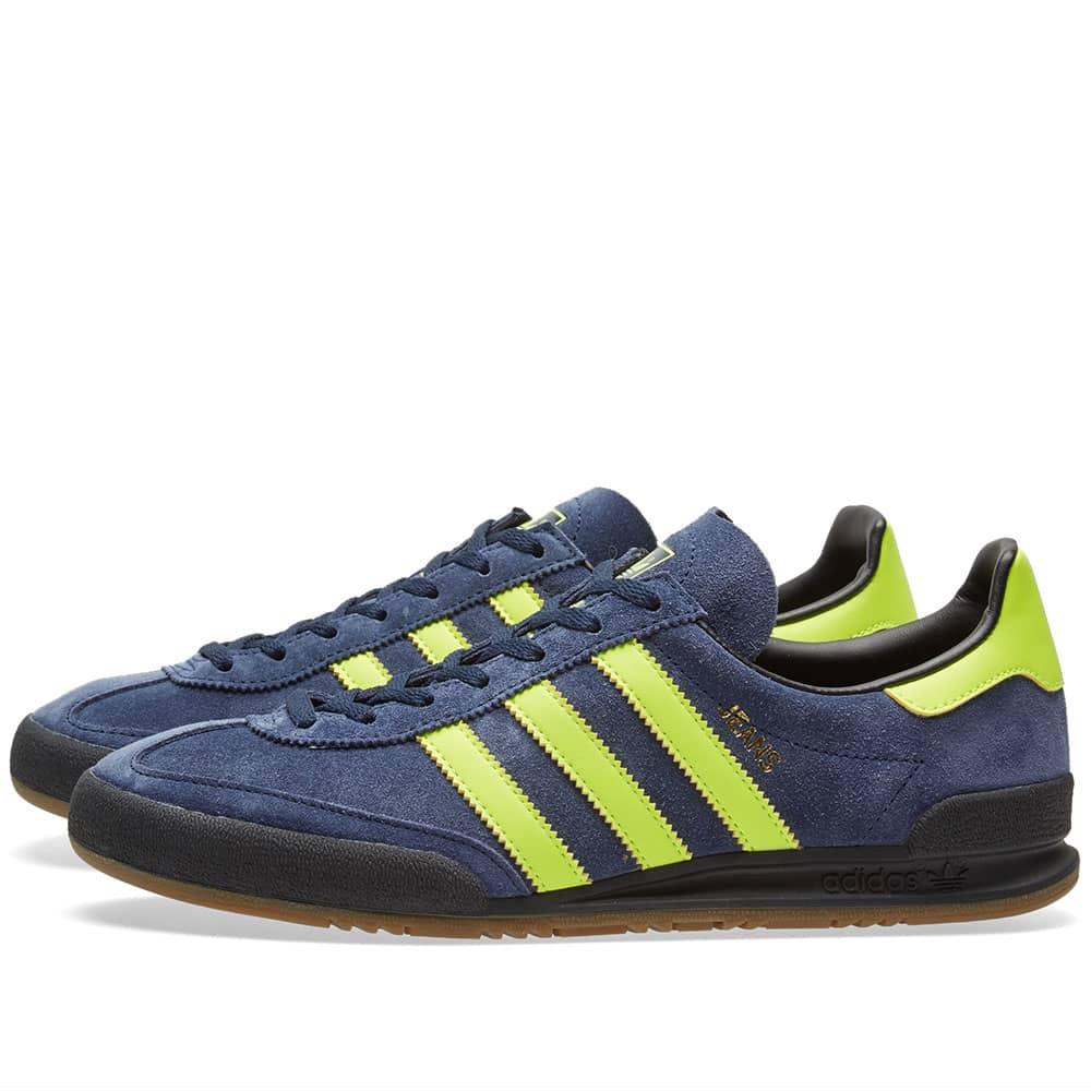 Adidas Jeans Collegiate Navy \u0026 Solar