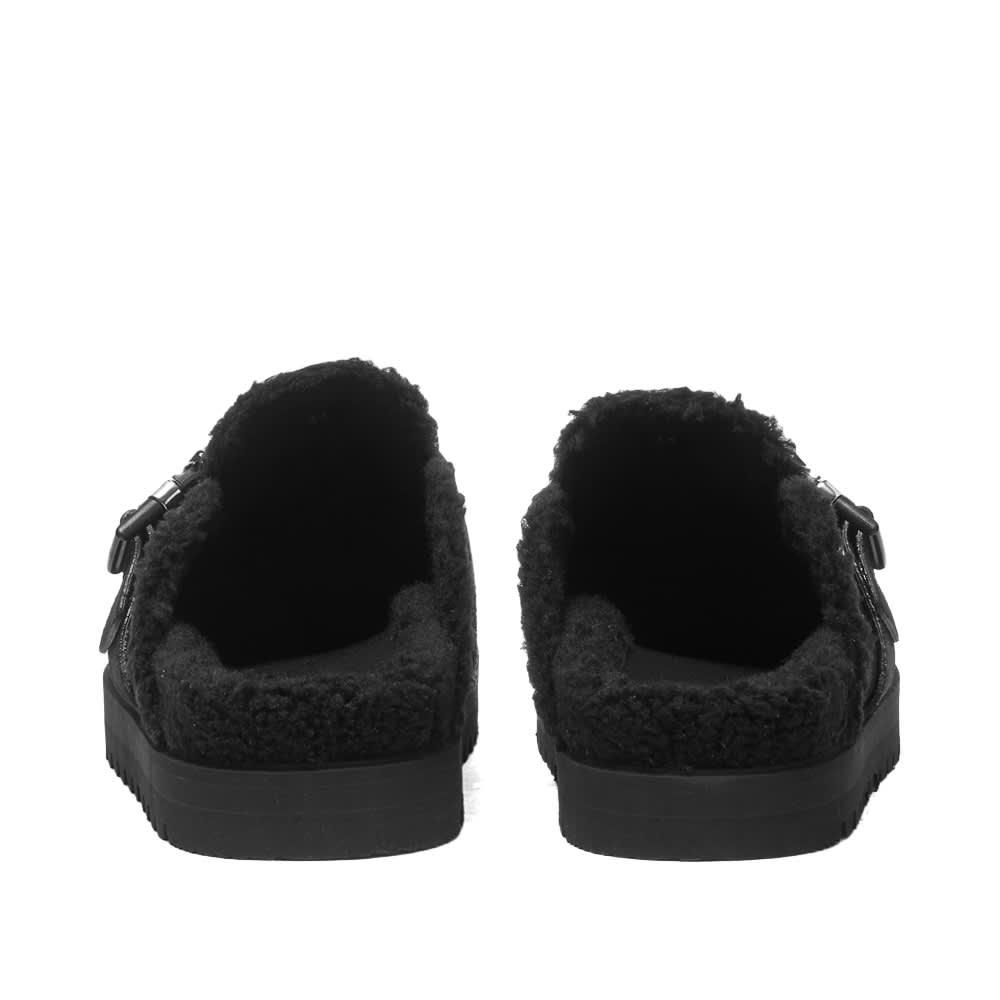 Moncler Mon Mule Slide Shoes - Black