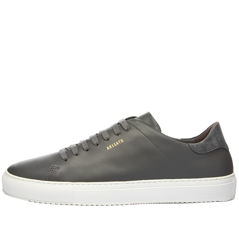 Axel Arigato Clean 90 Sneaker - Dark Grey Leather