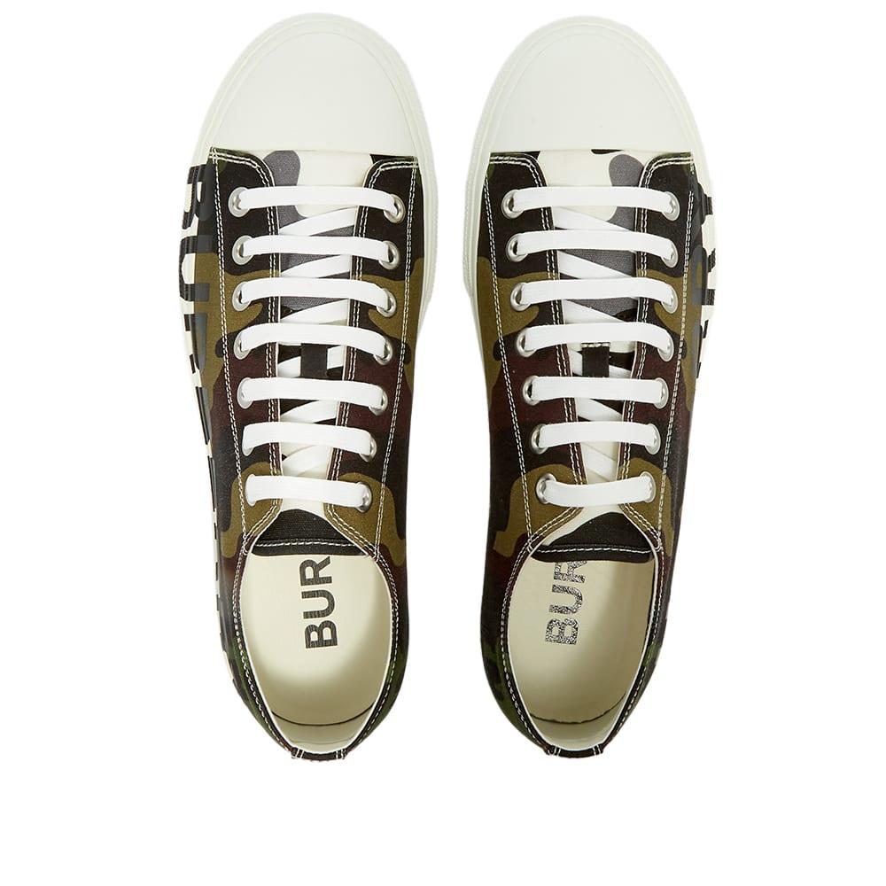 Burberry Larkhall Camo Logo Sneaker - Mangrove Grove