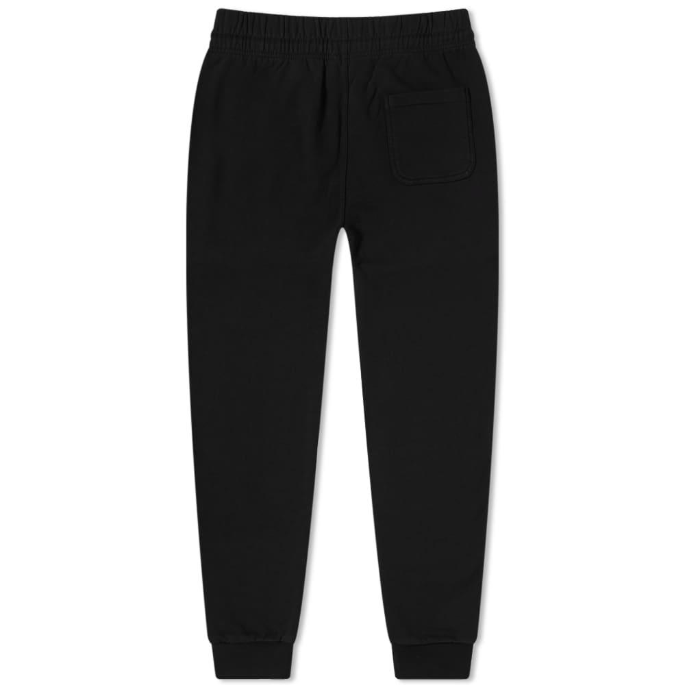 Maison Kitsuné Tricolour Fox Patch Sweat Pant - Black