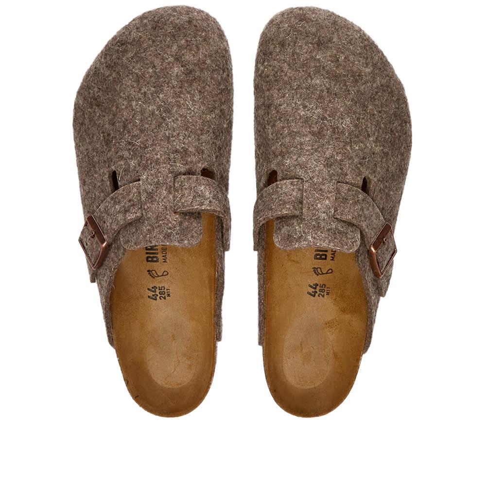 Birkenstock Boston - Cocoa Wool