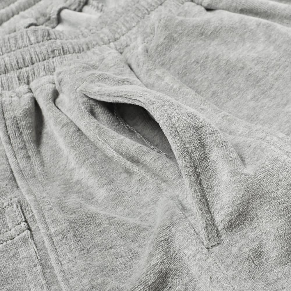 Pleasures Party Animal Velour Shorts - Grey